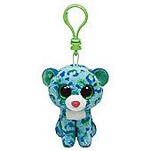 TY Beanie Boo Key Clip Leopard Leona