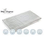Baby Elegance Micro Fibre Pocket Spring Cot Mattress 60 x 120cm