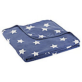 Tesco Printed Fleece, Stars