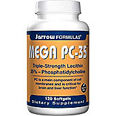 Jarrow Lecithin Mega Pc-35 Triple Strength 120 Softgels