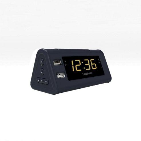 digital radio alarm clock tesco myshop tesco digital clock radio cr112tb alarm clock fm dab. Black Bedroom Furniture Sets. Home Design Ideas