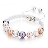 Shimla Ladies Shell Pearl Bracelet witth Fireball - SH-120