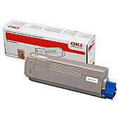 OKI Yellow Colour Toner Cartridge for C610 A4 Laser Printers