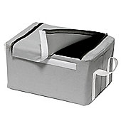 Keep - Multi Use Storage Box With Handles - Grey / White