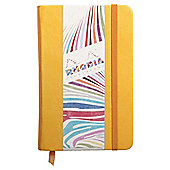 Rhodia Lined A6 Notebook, Yellow