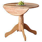 Wilkinson Furniture Brecon Drop Leaf Dining Table - Natural