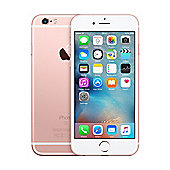 Tesco Mobile iPhone 6s 128GB Rose Gold
