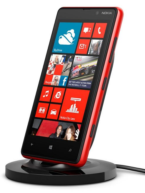 Nokia Wireless Charging Stand for Lumia 820/920.