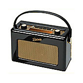 Roberts Radio RD60 DAB/FM Radio in Piano - Black