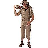 Safari Suit Fancy Dress Costume Extra Large