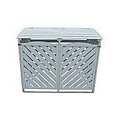 Wheelie bin store - Putty Grey
