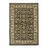 Oriental Carpets & Rugs Heritage 0993A Green Rug - 120cm x 170cm