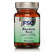 FSC Standardised Rhodiola Root 30 Capsules 500mg