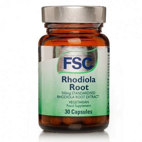 FSC Standardised Rhodiola Root 30 Capsules 500mg