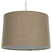 Tapered Drum Lamp Shade Woven Caramel