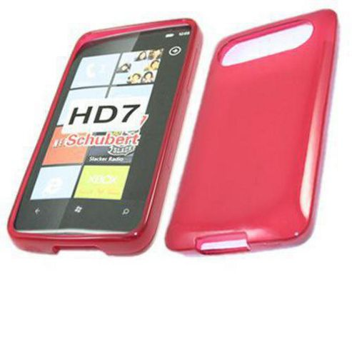 ProGel Skin Case - HTC HD7 - Red