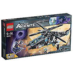 LEGO Agents UltraCopter vs. AntiMatt 70170
