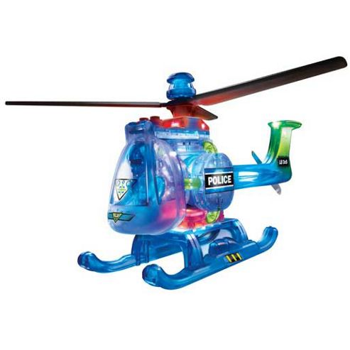Lite Brix Super Lazer Copter Light Up Bricks Set