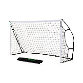 QuickPlay Kickster Academy Ultra-Portable Football Goal, 8ft x 5ft