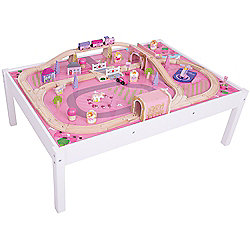 Bigjigs Rail Magical Train Set and Table