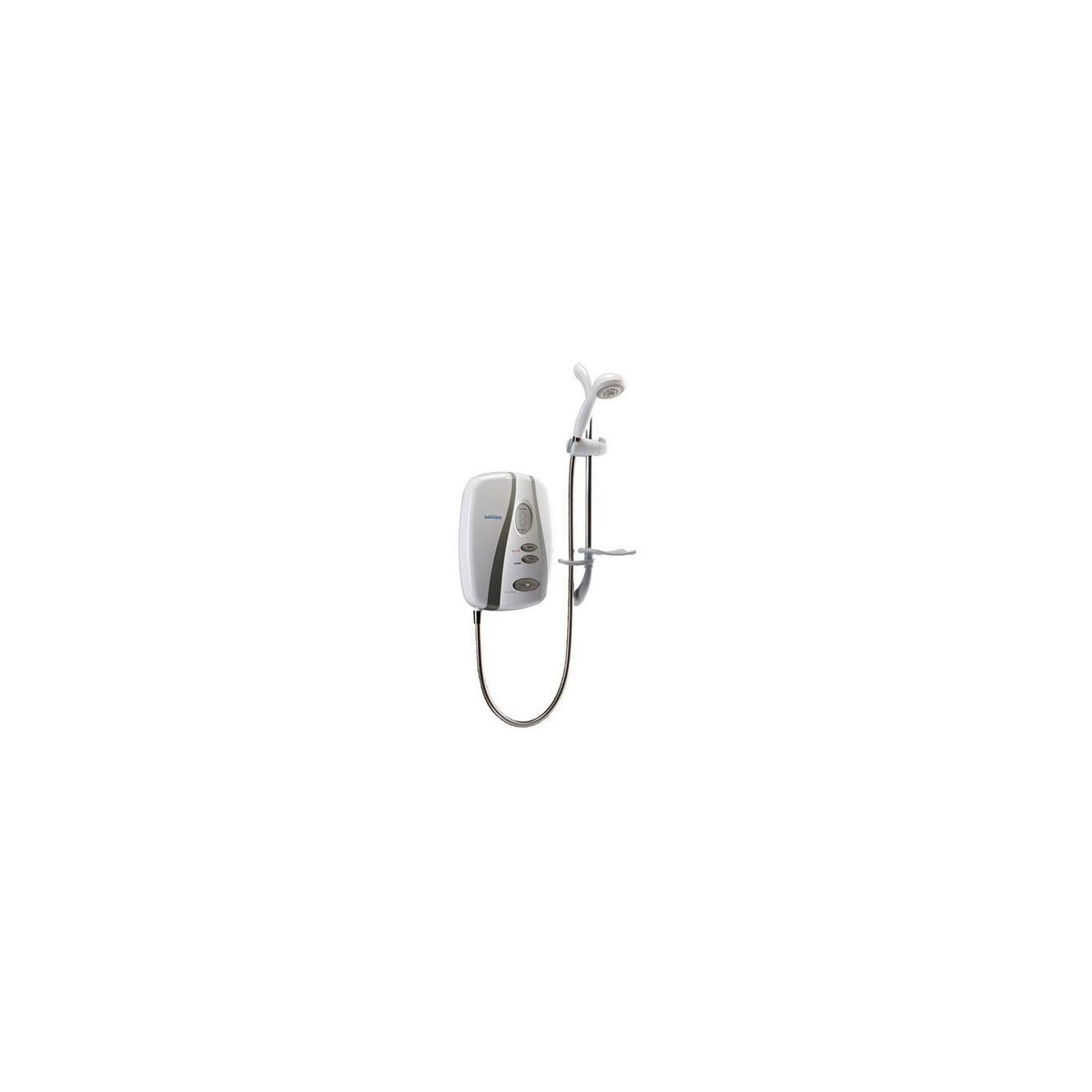 Redring Selectronic Premier Standard Electric Shower White/Chrome 9.5kW at Tesco Direct
