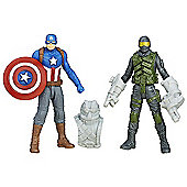 Marvel Captain America: Civil War 2 Figure Pack - Captain America & Mercenary