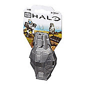 Mega Bloks Halo Metal Series Grey Figure