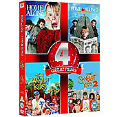 Home Alone 1 & 2/The Sandlot 1 & 2 (DVD Boxset)
