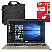 "ASUS X540LA-XX004T 15.6"" Laptop With BullGuard Internet Security & Case"