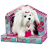 AniMagic Fluffy Goes Walking Soft Toy