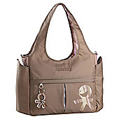 Okiedog Urban Celeb Tote Changing Bag, Caramel