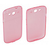 Samsung Galaxy S3 Protective Transparent TPU Case