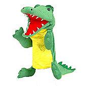 Fiesta Crafts 33cm Crocodile Hand Puppet