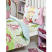 Pretty Princess and Unicorn, Junior Fitted Sheet