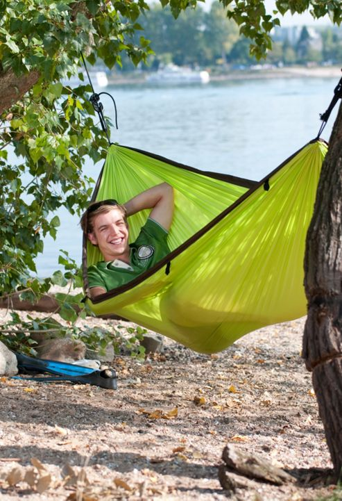 La Siesta Colibri Single Person Travel Hammock - Green