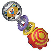 Tesco Loves Baby Twisting Barbell Rattle