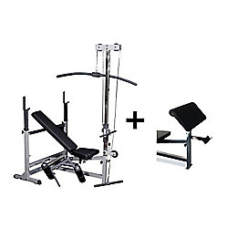 Body-Solid Deluxe PowerCentre Bench Package