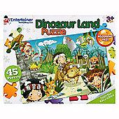 The Entertainer Dinosaur Land Puzzle