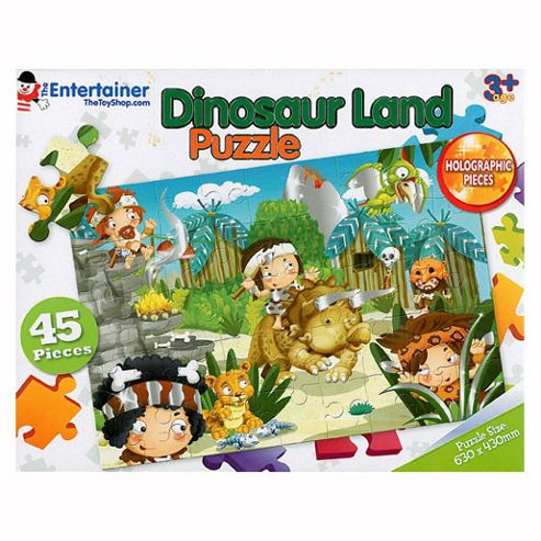 The Entertainer Dinosaur Land Puzzle