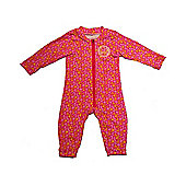Jakabel UV Sun Protection Baby Romper - Pink Beach - Pink
