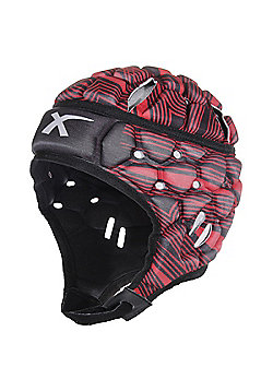 X Blades Wild Thing Rugby Headguard Scrum Cap Head Protection - Red