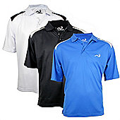 Woodworm Powerdry Tour Golf Polo 3 Pack M
