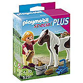 Playmobil 5291 Specials Plus Girl with Pony