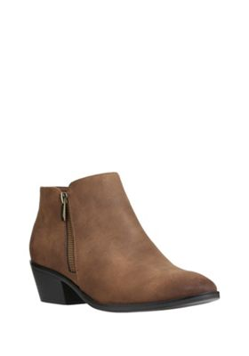 buy f f zip detail western shoe boots from our f f range