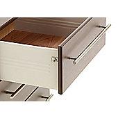 Ideal Furniture New York 6 Drawer Slim Chest - Oak