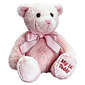 38cm Sitting Baby Girl Bear