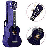 Stagg US10 Ukulele with Free Bag - Purple
