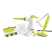 Beldray Hand Held Steam Cleaner 1000W Lime