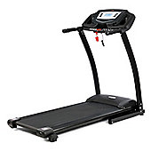 V-fit PT141 PROGRAMMABLE FOLDING TREADMILL - (12km/h - Hand Pulse - Backlit Display - 3-Position Manual Incline)