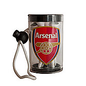 Arsenal F.C Official Golf Tee Shaker With Tees